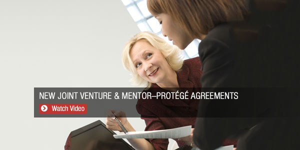 New Joint Venture & Mentor Protege Agreements